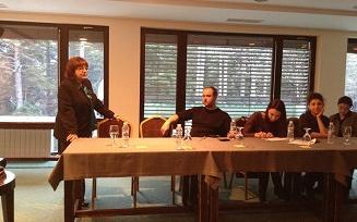 Кръгла маса за обмяна на опит по теми от проведени обучения и дискусии по казуси -  к. к. Боровец