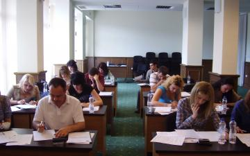 "Pilot Training on the application of the part ""Non-contentious Proceedings"" of the new Civil Procedure Code - Velingrad"