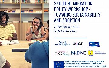 Втори съвместен семинар на миграционната политика към устойчивостта и приемането