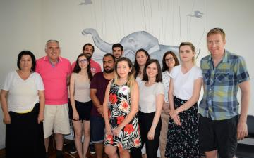 E-UNITE Joint Staff Training in Athens, Greece