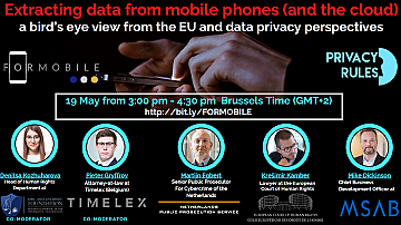 Extracting data from mobile phones (and the Cloud)