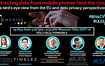 Extracting data from mobile phones
