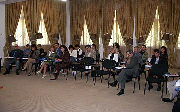 Seminar for presentation of internal rules for document flow of electronic and paper documents for regional administrations