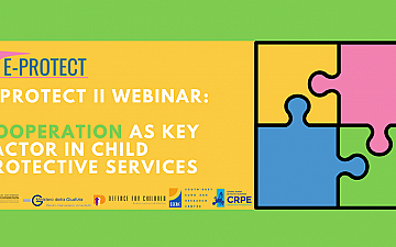 E-PROTECT II Webinar - Cooperation as key factor in child protective services