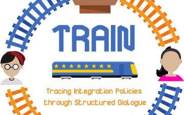 Tracing Integration Policies through Structured Dialogue (TRAIN)