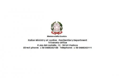 Italian Ministry of Justice – Penitentiary Department - Proveditorato Regionale