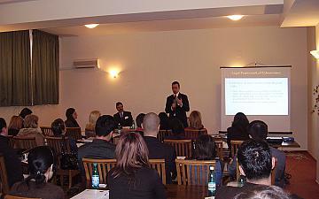 """Обучителен семинар по проект """"Правосъдие в дигиталната ера"""" - Констанца, Румъния"""