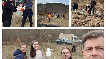 """Членове на екипа на Фондация """"Право и Интернет"""" се включиха в инициатива на Гората.бг"""