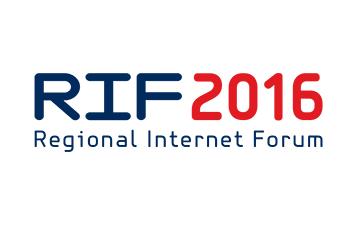 Second Regional Internet Forum - RIF 2016