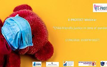 E-PROTECT Webinar: Щадящо Правосъдие за деца, в условия на пандемия