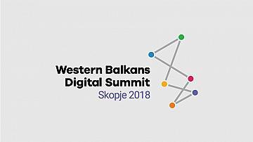Prof. Dr. George Dimitrov and Assoc. Prof. Dr. Daniela Ilieva-Koleva attended the first ever Western Balkans Digital Summit